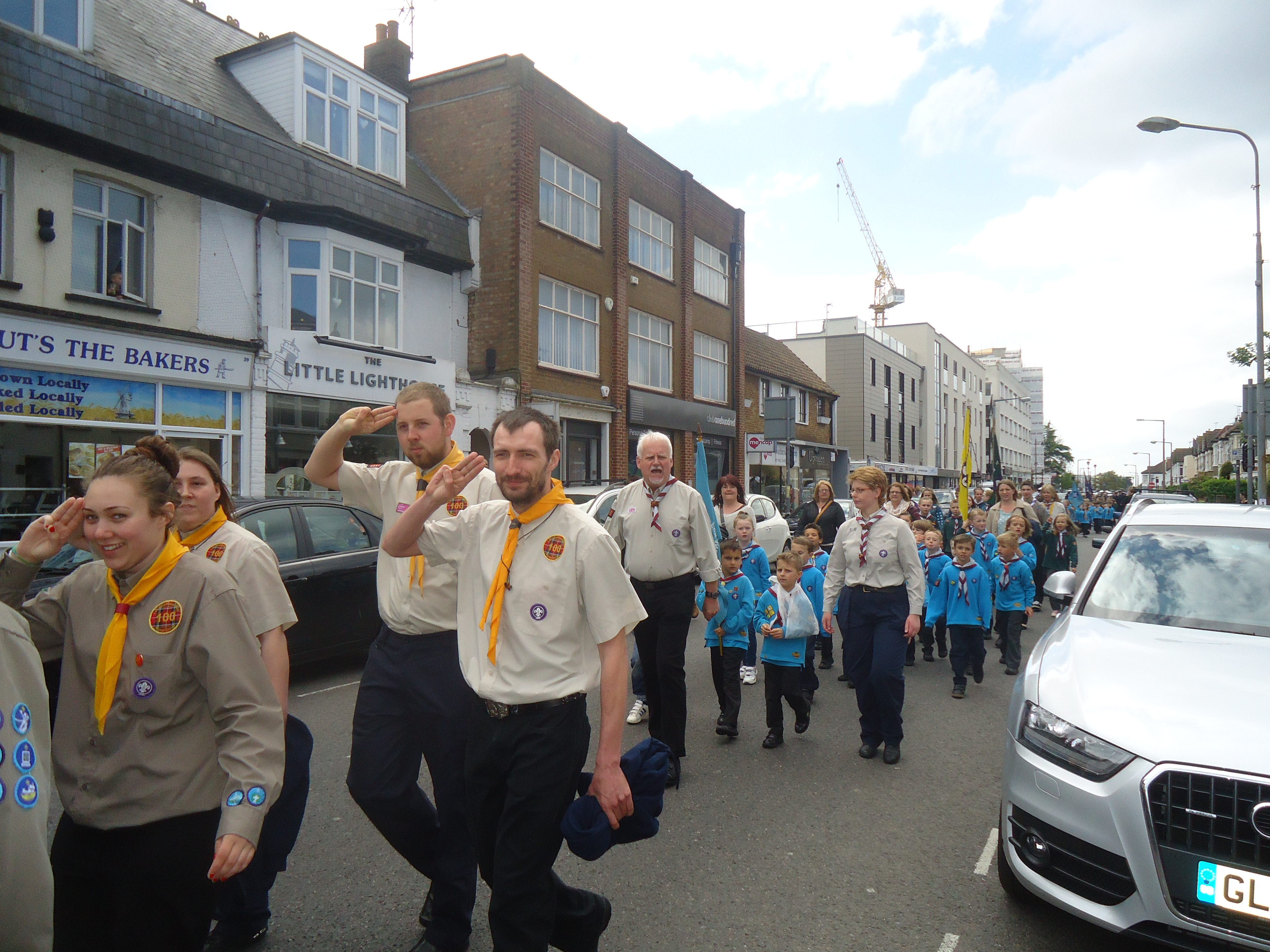 David Amess              David Amess MP Attends Southend West Scouts Renewal of Promises and Parade