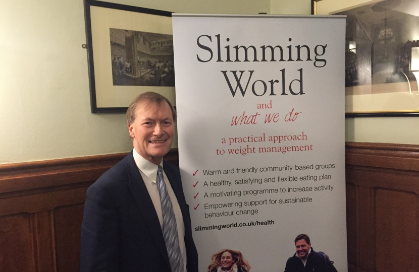 Local MP shows support for Slimming World