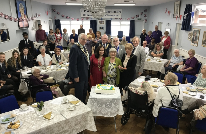 Centenarians' Tea Party
