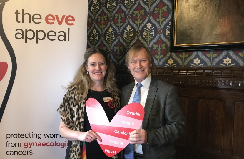 David Amess Ovarian cancer