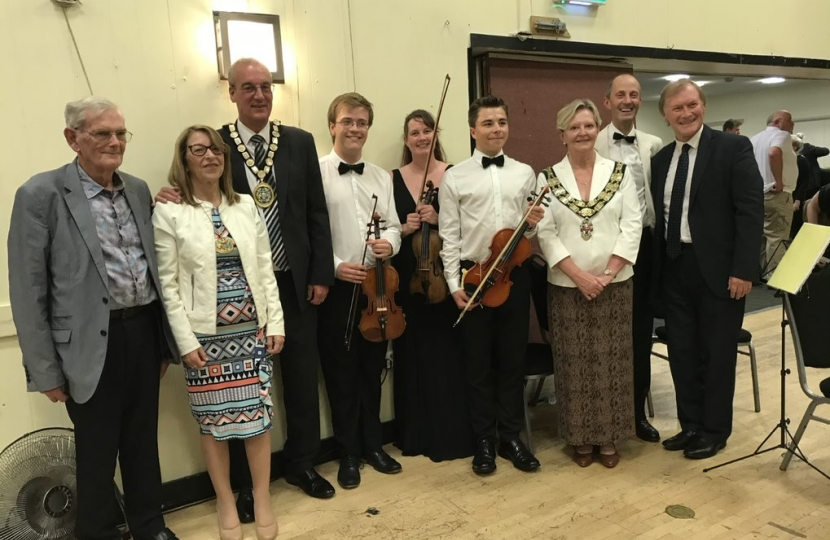 Southend West MP enjoys Essex Concert Orchestra event