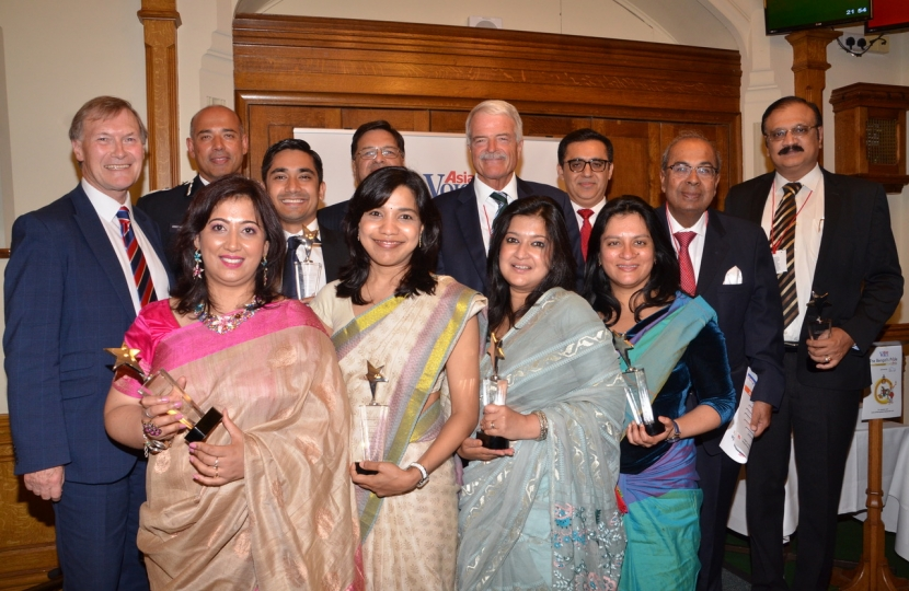 Sir David hosts the Bengal Pride Awards
