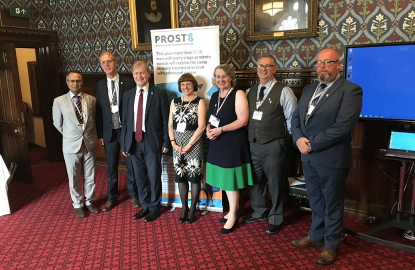Sir David launches new Prostate Cancer charity