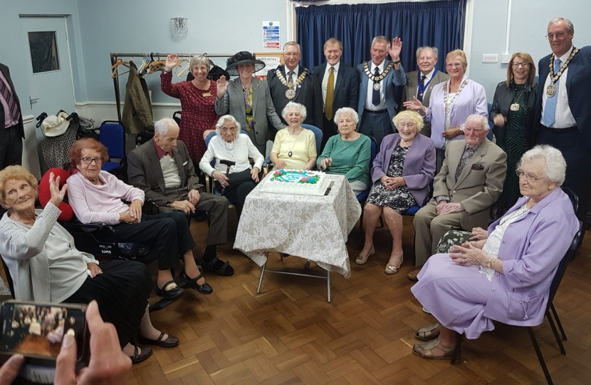 MP's 14th Centenarians Tea Party a great success