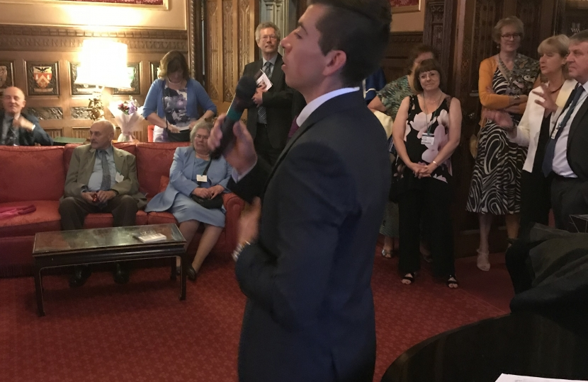 Joe performing at Speaker's House