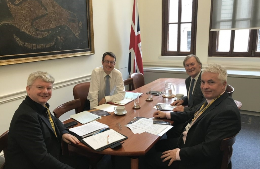 Southend West MP meets with HM Treasury