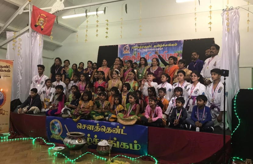 Southend MP attends Tamil Harvest Festival