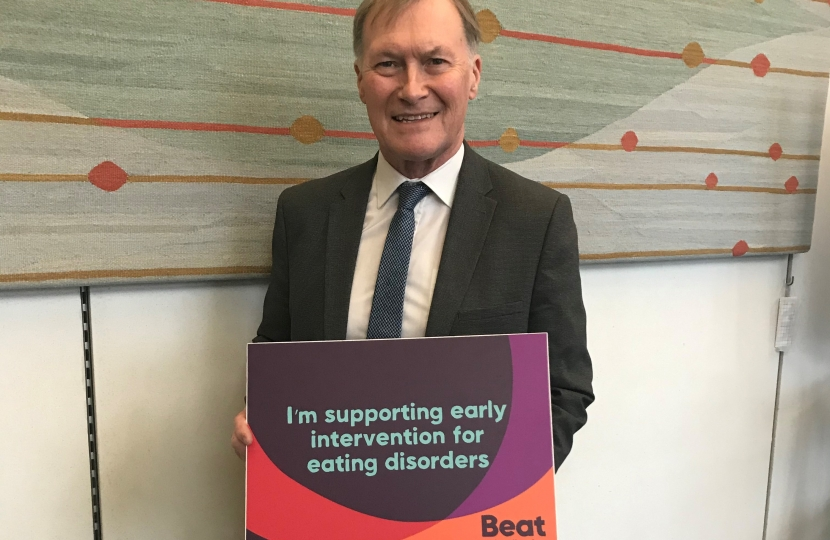 Southend West MP attends eating disorder event
